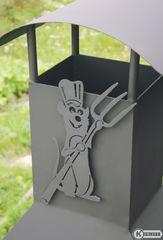 фото Декоративное украшение для мангала Поваренок 1