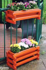 фото Кашпо для цветов на беседку