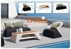 Фото №3 Комплект мебели из ротанга CHAILD-202010 лаунж сет