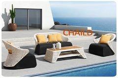 фото Комплект мебели из ротанга CHAILD-202010 лаунж сет