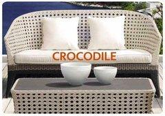 Фото №5 Комплект мебели из ротанга CROCODILE-202130 лаунж сет