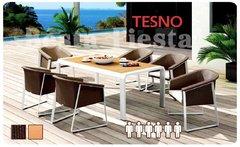 Фото №5 Обеденный комплект мебели из ротанга TESNO-202420