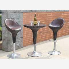 фото Набор 2 барных стула и стол Derong