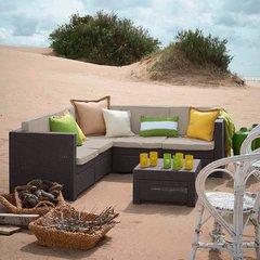 Фото №3 Угловой комплект садовой мебели Provence