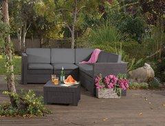 Фото №4 Угловой комплект садовой мебели Provence