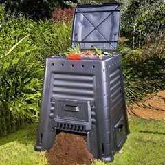 Фото №2 Компостер пластиковый KETER Mega Composter