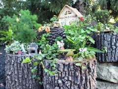Фото №10 Горшок-цветочница вертикальный M