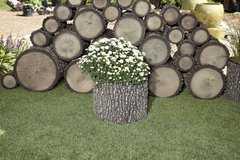 Фото №9 Горшок-цветочница вертикальный L