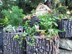 Фото №11 Горшок-цветочница вертикальный L