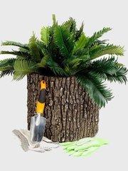фото Горшок-цветочница вертикальный дуб L