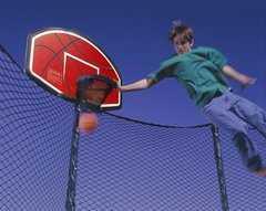 Фото №4 Баскетбольный щит для батута DFC ZY-BAT