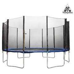 Фото №2 Батут 15 футов (457 см) DFC Trampoline Fitness с сеткой 15 ft - TR-E