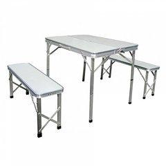 фото стол складной с 2-мя стульями НТО6-0041/3