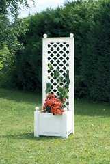 Фото №2 Маленький ящик для растений с шпалерой 37201