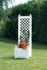 фото Маленький ящик для растений с шпалерой 37201