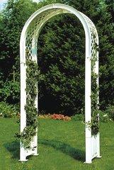 фото Садовая арка с штырями для установки в землю 37901