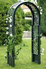 фото Садовая арка с штырями для установки в землю 37903
