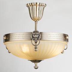фото Классический потолочный светильник 89247/3 античная бронза