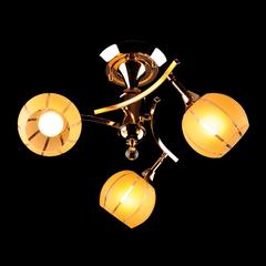 фото Люстра 3353/3 золото/желтый