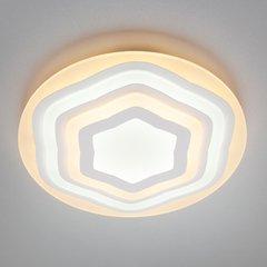 фото Светодиодный потолочный светильник 90117/1 белый