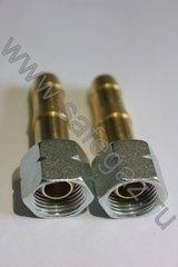 фото Газовые фитинги: Штуцер GOK 3/8 шланг 9 мм