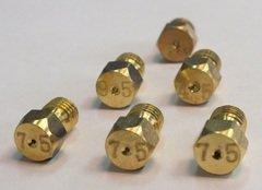 фото Газовые фитинги: Универсальный комплект жиклеров для газовых плит (с грилем)