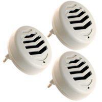 фото Отпугиватели грызунов: Комплект из 3 ультразвуковых отпугивателей грызунов и насекомых «Weitech WK3523»