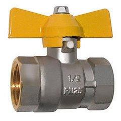 фото Газовые фитинги: Кран газовый шаровой G-BEKA 1/2 дюйма Г/Г