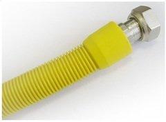 """фото Сильфонная газовая подводка: Подводка для газа Udi/Primo сильфонная с покрытием ПВХ 1/2"""", длина=2,00-4,00 м, г/г."""