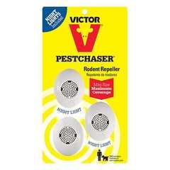 фото Отпугиватели грызунов: Ультразвуковой отпугиватель крыс и мышей  Victor® Mini PestChaser®M753SN, 3 шт. в комплекте