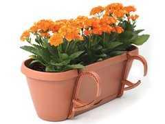 фото Горшок-цветочница EDEN коричневый