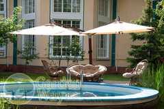 фото Садовый зонт GARDEN WAY SLHU002 с боковым кантом