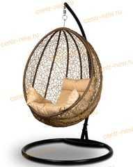 фото Подвесное кресло-кокон MALAGA + каркас