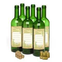 фото Комплект винных бутылок «тоскана» 0,7 л (6 шт.)
