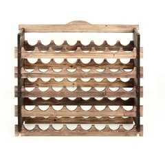 фото Подставка-полка для винных бутылок (40 бутылок) венге