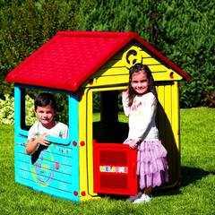 фото Детский игровой домик без трубы