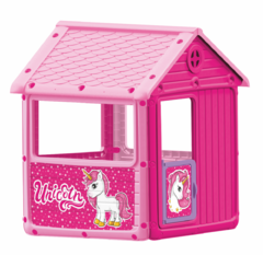 фото Детский игровой домик для девочек (единорог)