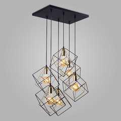 фото Подвесной светильник в стиле лофт 2779 Alambre
