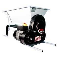 фото Дробилка dmc электрическая для винограда c гребнеотделителем