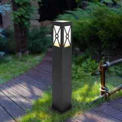 фото ландшафтный светильник 1406 TECHNO черный