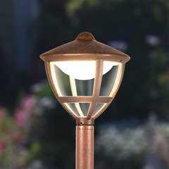 фото Gala F брауни уличный светодиодный светильник на столбе GL LED 3001F