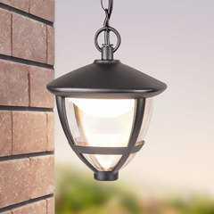 фото Gala H черный уличный светодиодный подвесной светильник GL LED 3001H