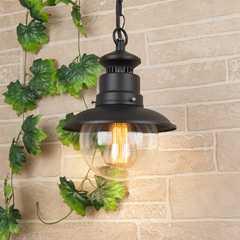 фото Talli H черный уличный подвесной светильник GL 3002H