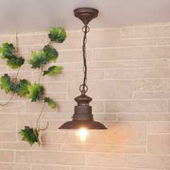 фото Talli H брауни уличный подвесной светильник GL 3002H