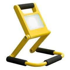 фото Аккумуляторный светодиодный прожектор 007 FL LED 10W 6500K IP54 Mobi