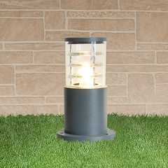 фото ландшафтный светильник 1508 TECHNO серый