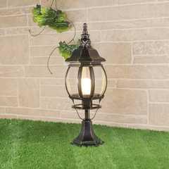 фото ландшафтный светильник GL 1001S черное золото