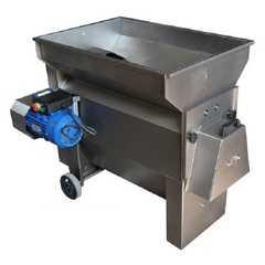 фото Дробилка steel электрическая для винограда с гребнеотделителем и мезгонасосом