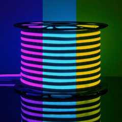 фото Светодиодный гибкий неон LS001 220V RGB 12W 80Led 5050 IP67 односторонний