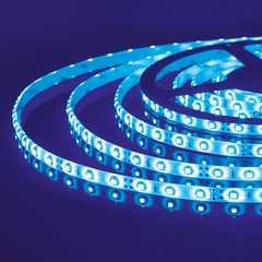 фото Светодиодная лента 2835/60 LED 4.8W IP65 синий свет